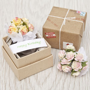 Tiny Package With Token Gift And Message - wedding favours