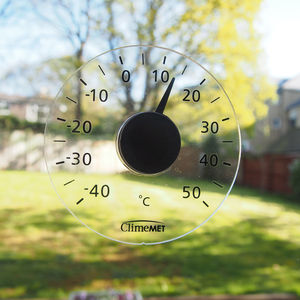Personalised Window Thermometer