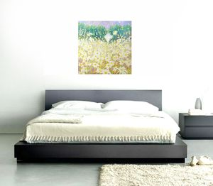 Daisies In A Sussex Meadow - contemporary art