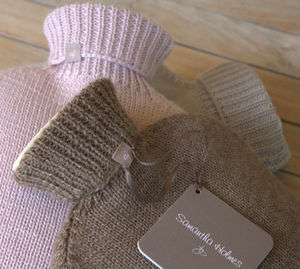 Alpaca And Bamboo Hot Water Bottle - hot water bottles & covers