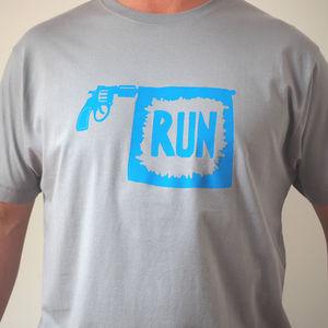 Go Run Starters Pistols T Shirt
