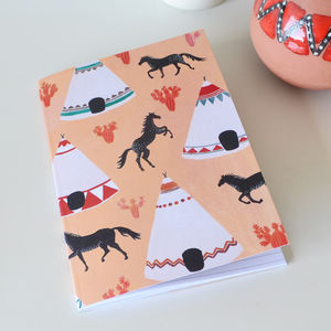 Wild West Notebook - shop by recipient