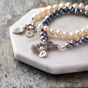 Personalised Freshwater Pearl Bracelet - jewellery for women