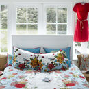 Flower Bouquet Duvet Set