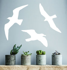 Seagull Vinyl Wall Sticker - children's room