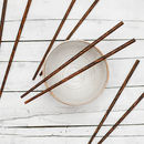 Coconut Wood Chopsticks Set