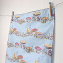 Toadstool Premium Cotton Tea Towel