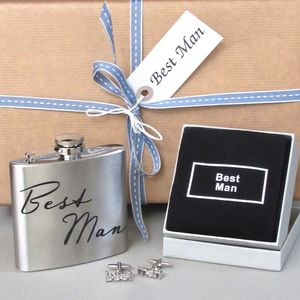 Best Man Gift Set ~ Boxed And Gift Wrapped