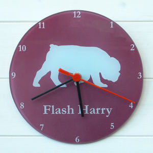 Pet Dog Clock