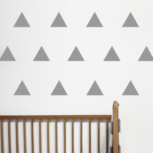 Triangle Wall Stickers - wall stickers