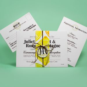 St Clement's Wedding Invitation And Stationery Suite - invitations