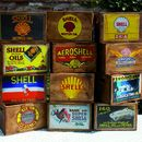 Shell Petrol Vintage Style Crate