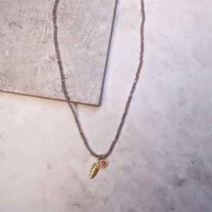 'Happiness' Labradorite Gemstone Necklace - necklaces & pendants