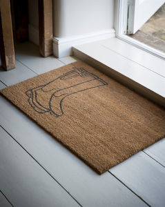 Small Welly Doormat
