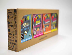 Selection Of Four Award Winning Curry Kits - food & drink gifts under £25