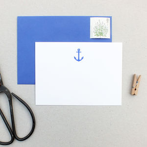 Anchor Notecards - notelets
