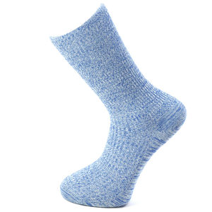 Men's Iris Ribbed Cotton Mid Calf Socks