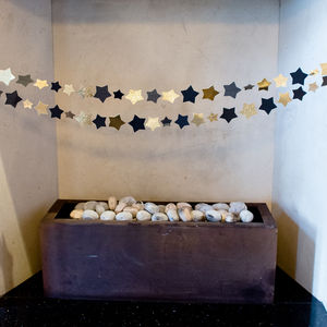 Glitz And Glam Star Garland - garlands & bunting