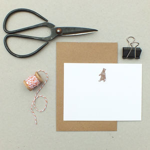 Bear Notecards - notelets