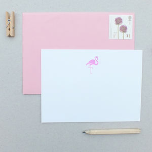 Flamingo Notecards - shop by category