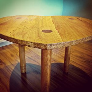 Big Love Coffee Table Handmade In Solid Oak - coffee tables
