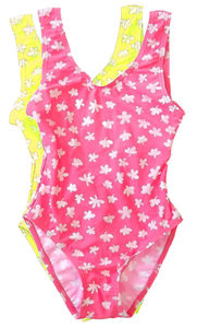 Girl's Printed Swimsuit