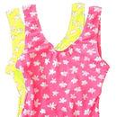 Girl's Fluro Printed Swimsuit