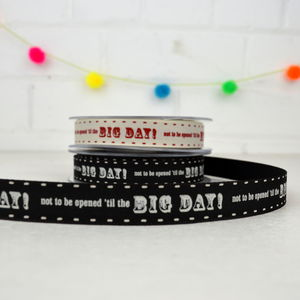 Big Day Gift Ribbon