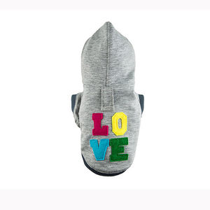 'Love' Dog Hoodie - clothes