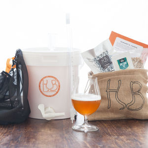 Craft Beer Brewing Starter Kit - gifts for fathers