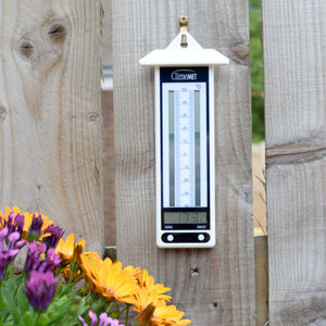 Min/Max Garden Thermometer - refresh your home