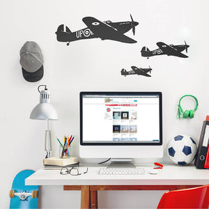 Hawker Hurricane Vinyl Wall Sticker - wall stickers