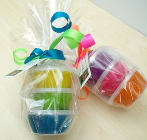 Child's Dough Neon Party Pots - traditional toys & games