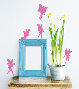 Fairy Vinyl Wall Sticker Set