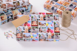 Personalised Photo Wrapping Paper - shop by category