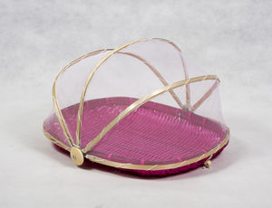 Pink Bamboo Covers Set Of Two
