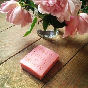 Rose French Soap With Petals