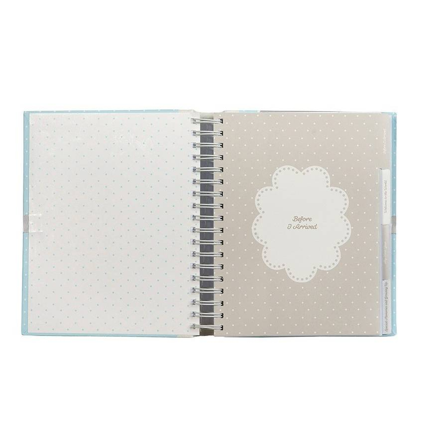 Baby boy journal by the contemporary home for Modern house journal