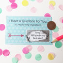 Personalised Will You Be My Best Man Scratch Card