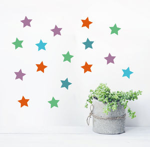 Star Wall Sticker Set - wall stickers