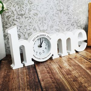 Home Wooden Clock - clocks