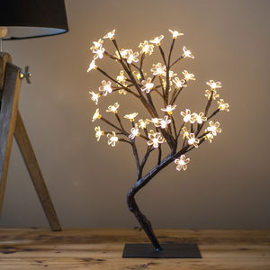 Illuminated Cherry Blossom Tree - outdoor decorations