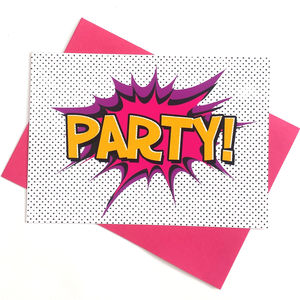 Girls Superhero Party Invitations