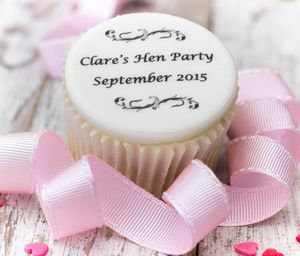 Hen Party Cupcake Toppers - kitchen