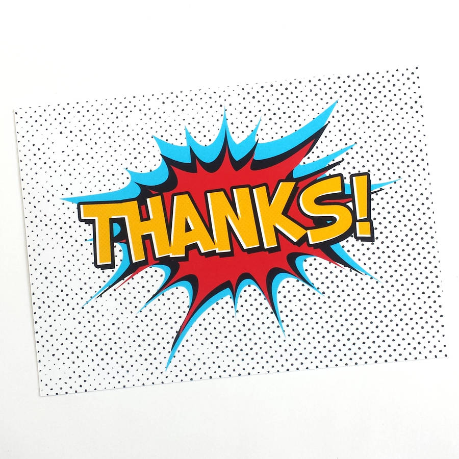 Superhero thank you cards by of life lemons notonthehighstreet superhero thank you cards thecheapjerseys Images
