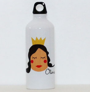 Personalised Water Bottle With Princess - storage & organising