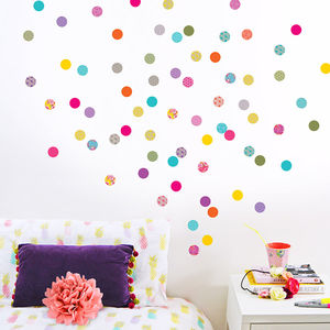 Shanghai Polka Dot Wall Confetti - children's room accessories