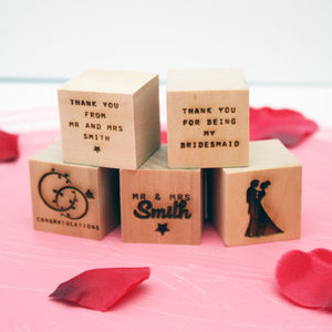 Personalised Wedding Wooden Blocks - view all sale items