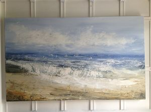 Seascape Abstract Painting ' Summer's Prose'