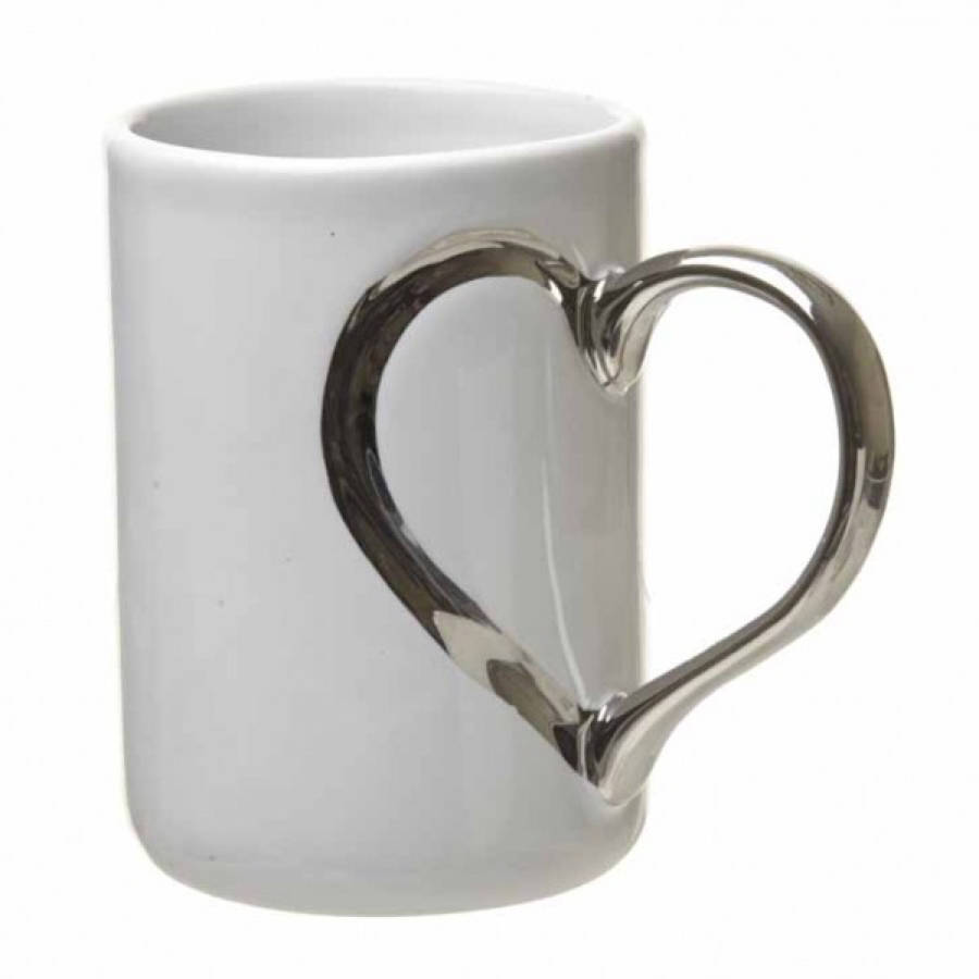 heart handle mug by all things brighton beautiful. Black Bedroom Furniture Sets. Home Design Ideas